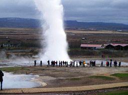 北海の大地氷と火の国アイスランド