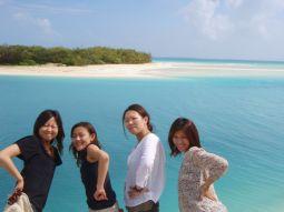 さらっさらの白砂ビーチ♪ウベア島へ!