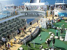 世界最大客船、オアシスオブザシーズ!!