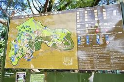 【写真左】園内マップ!