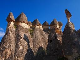 ~キノコ岩がニョ~キニョキ~ ★世界遺産★カッパドキア北部観光♪