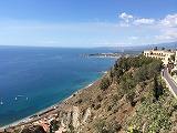 <南イタリア・シチリア島>タオルミナの街歩き