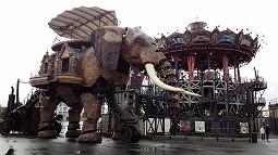 機械仕掛けの象に乗れる街~ナント訪問記~
