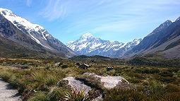 ニュージーランド南島を歩く