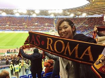 セリエAで絶好調のASローマ観戦!~サッカー×のんだくれ旅②~