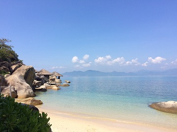 憧れのSix Senses Ninh Van Bayに滞在