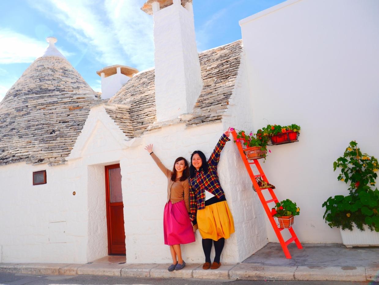 イタリア女子旅❤憧れのかわいい町を制覇!