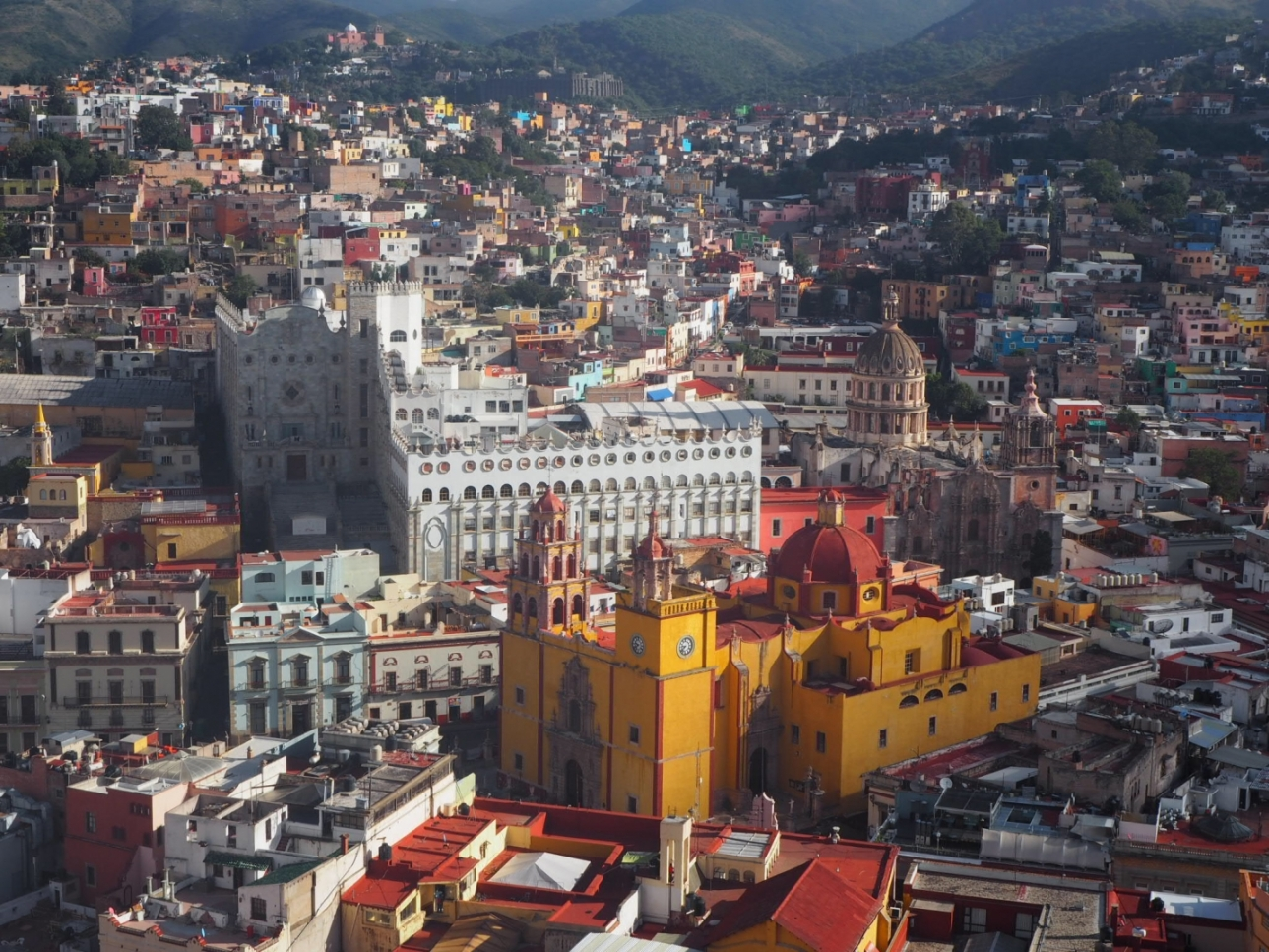 メキシコ1美しい町!グアナファトで街歩き