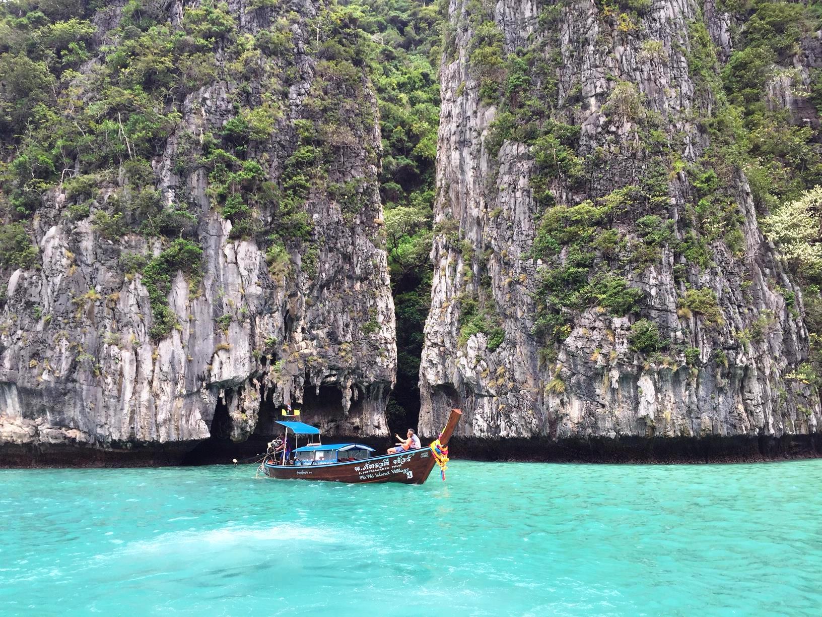 雨でも楽しめた!タイの秘境クラビ!