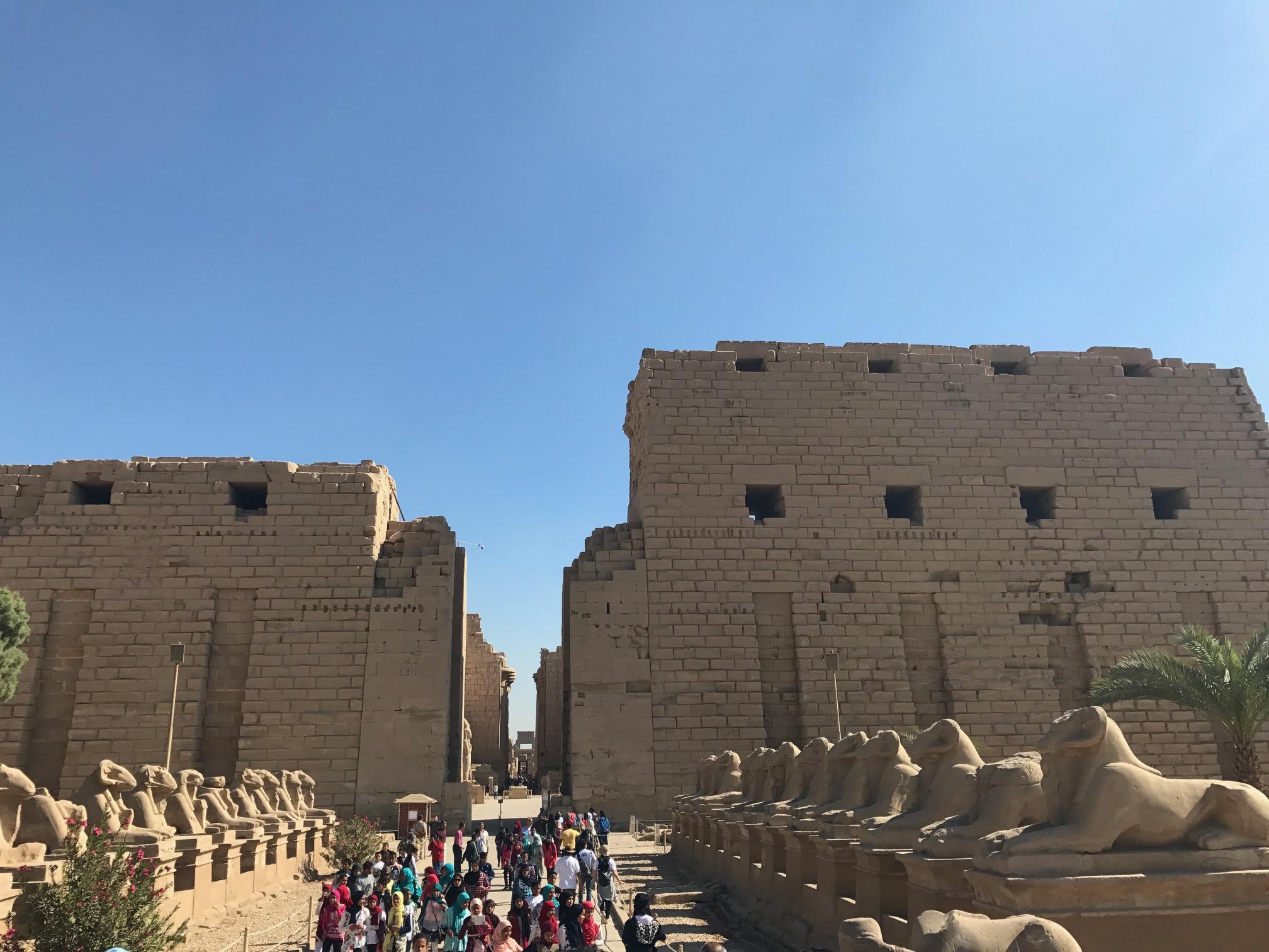 エジプトの最大級は外せない【カルナック神殿】