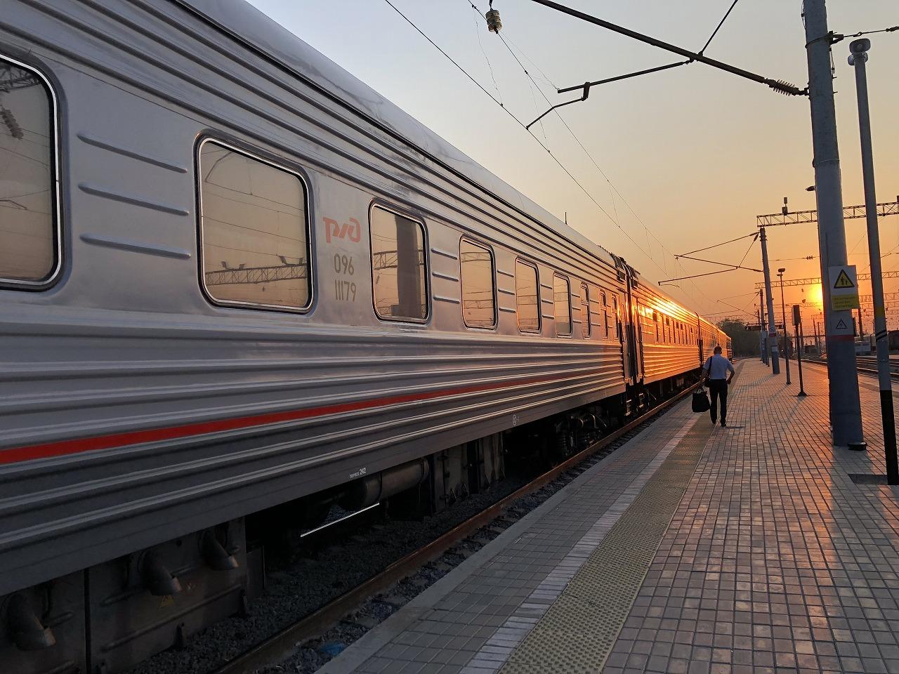 シベリア鉄道『オケアン号』に乗って極東を駆け抜ける