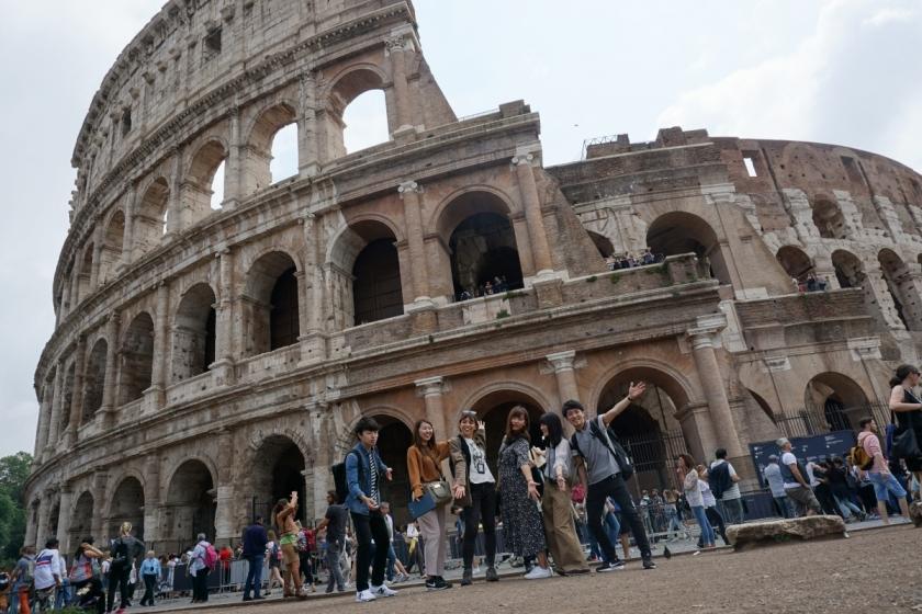 ローマでさくっと王道街歩き♪