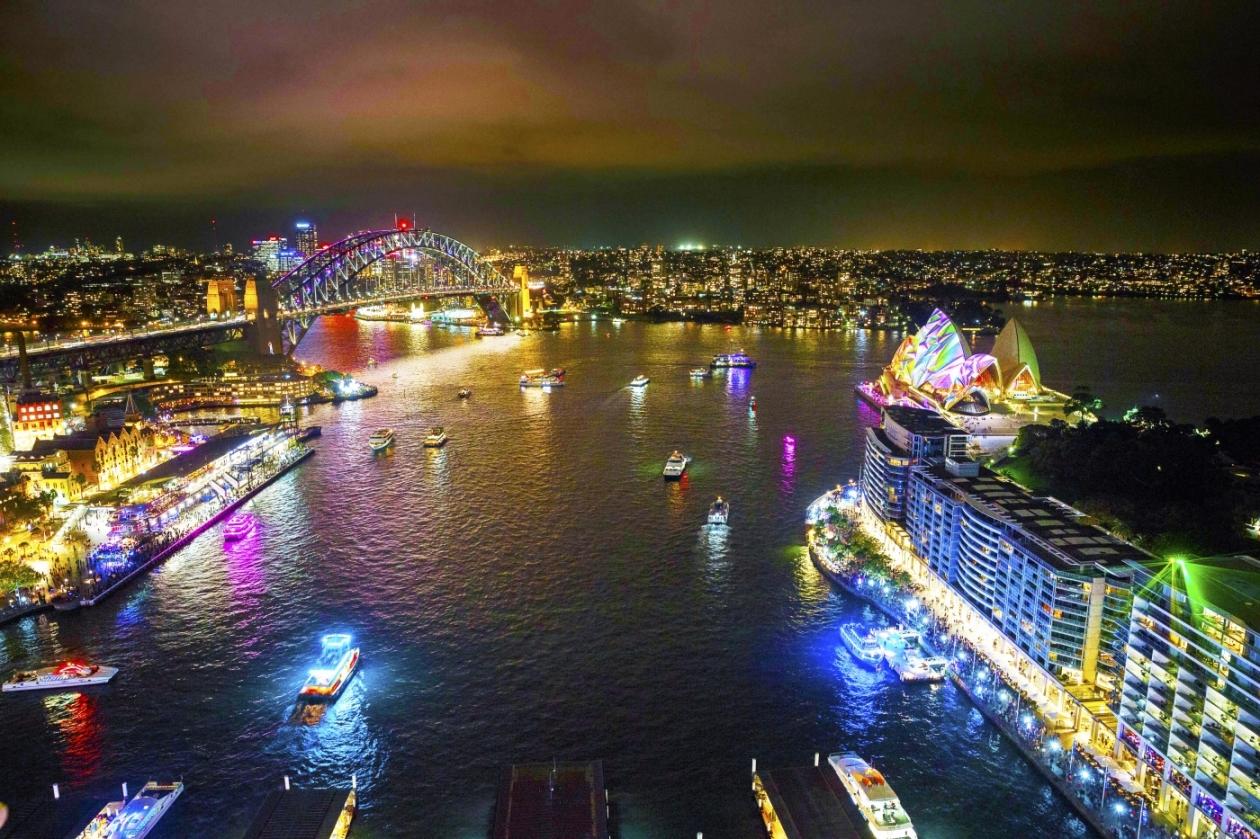 光と音と芸術の祭典!VIVIDシドニー