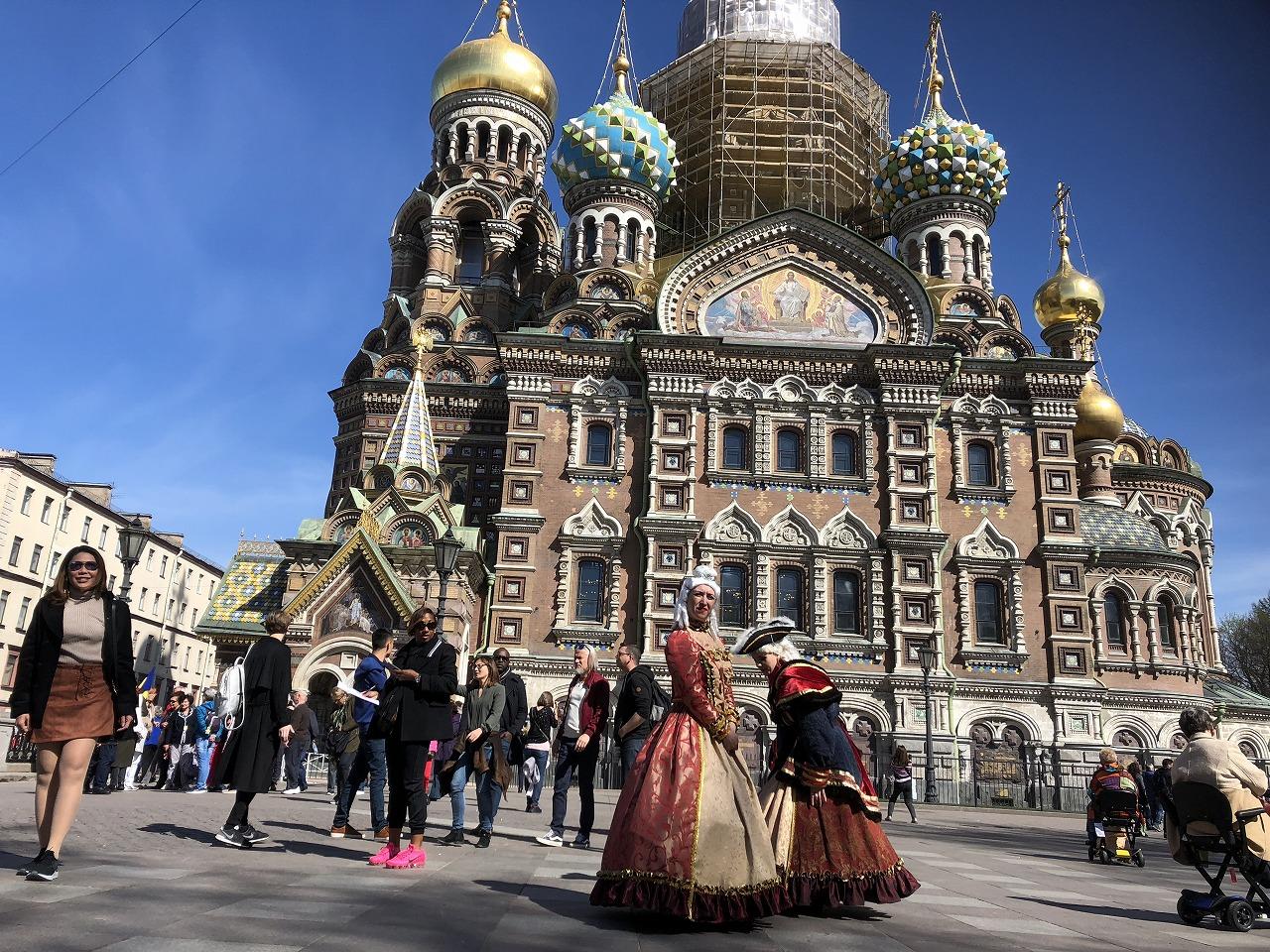 芸術的なサンクトペテルブルクを散策しよう