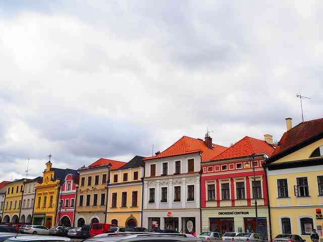 チェコの可愛らしい小さな街「リトミシュル」