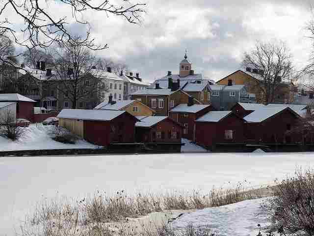 フィンランドの古都「ポルヴォー」は可愛らしさで溢れていた...