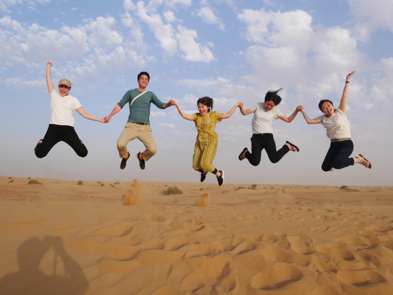 ☆スリル満点★砂漠サファリ