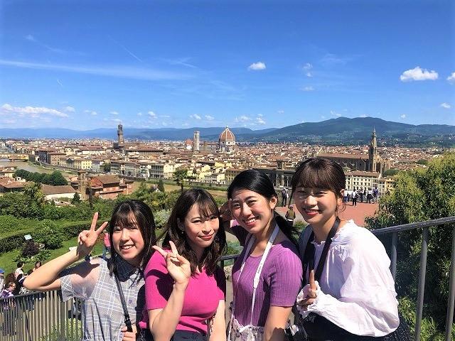 フィレンツェ王道街歩き◎これぞイタリアな絶景をのぞむ半日...