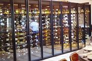 大きなワインセラー