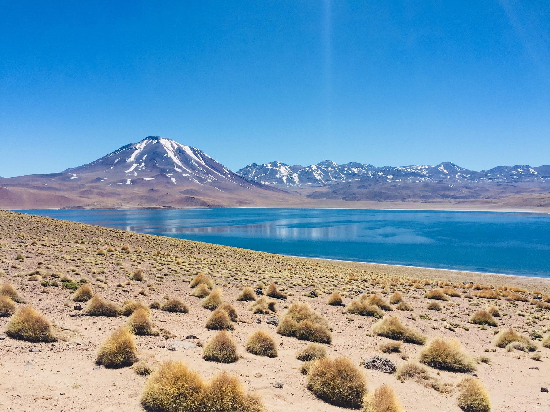 幻想的な赤と藍の大地 ~アタカマ砂漠~ で絶景尽くし