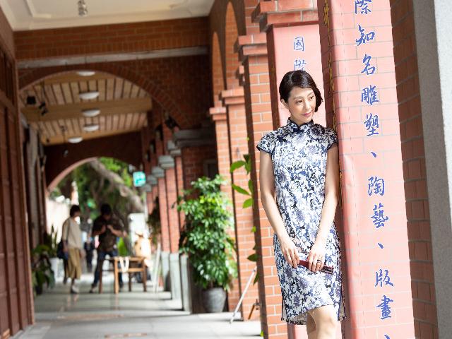 チャイナドレスを着て台北フォト旅♪鮮やかに華やかに思い出...