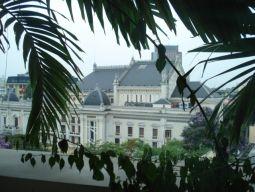 ホテルからオペラ座の眺め