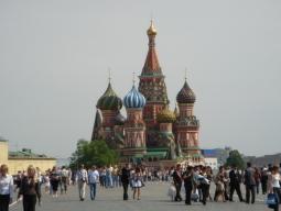 赤の広場とワシリー聖堂