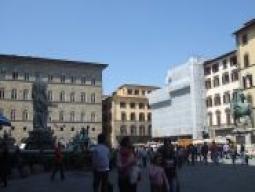 フィレンツェのシニョーリア広場