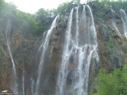 プリトヴィツェ滝