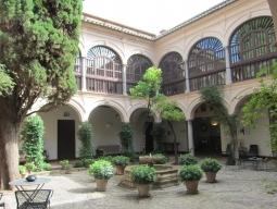 パラドール 中庭