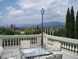 ホテル ラ・ヴェデッタからの景色
