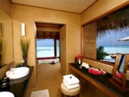 デラックス水上スイート バスルーム/一例