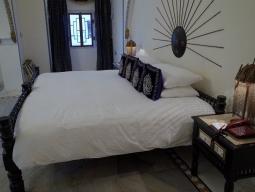 客室の一例/こちらは少し男性らしいデザイン