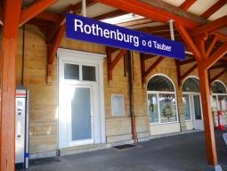 ローテンブルグ駅周辺