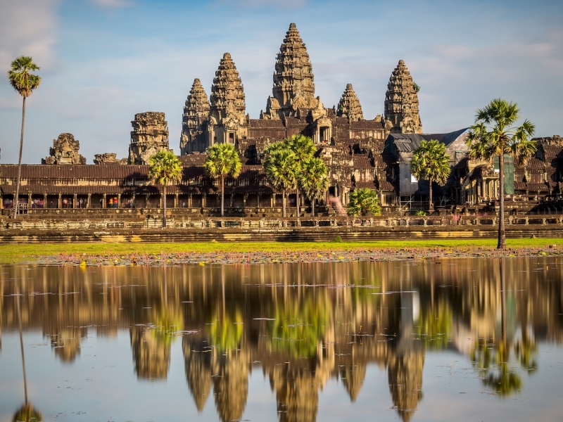 カンボジア/アンコールワット遺跡