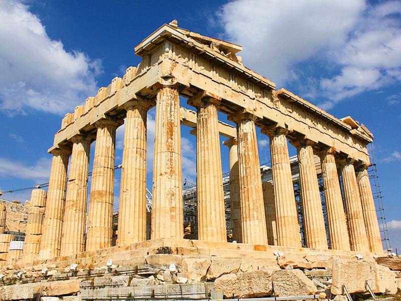 古代文明が生きるアテネ