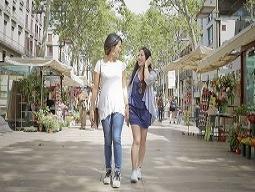 【バルセロナ】<旅×フォト>街歩きしながら楽しくおしゃれに旅を撮影! ツーリズムフォト®  カジュアルプラン  ※普段着での旅行撮影となります。
