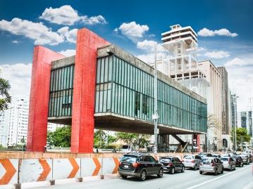 サンパウロ美術館(パウリスタ大通り)