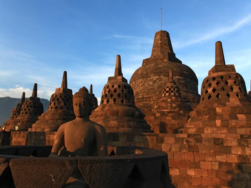 インドネシア/ボロブドゥール遺跡