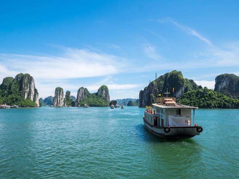 ベトナム/ハロン湾