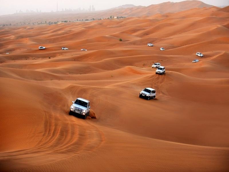 砂漠サファリ