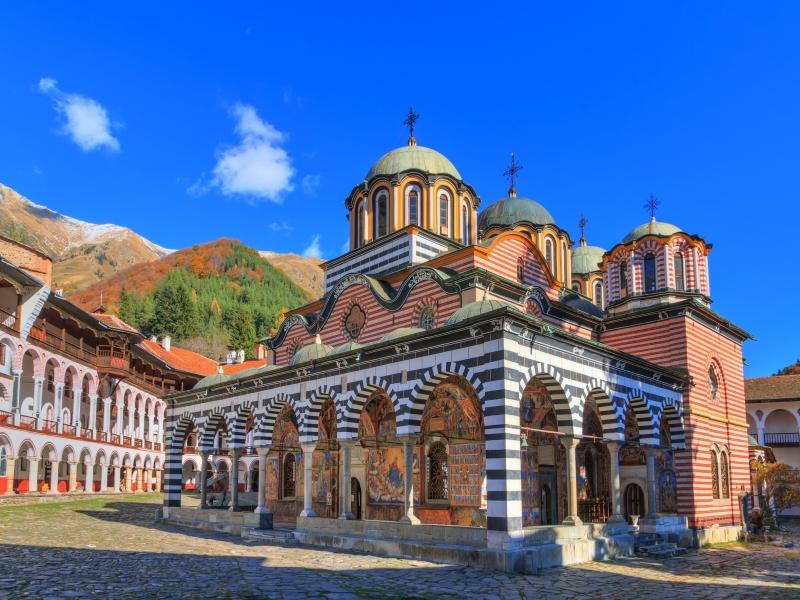 おすすめの絶景・秘境ツアー ブルガリア/リラ僧院
