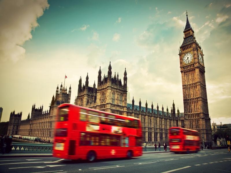 名所だらけの大都市ロンドン