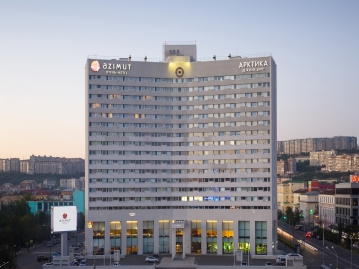 アジムット ホテル ムルマンスク