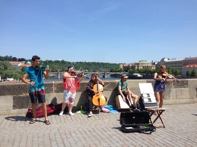 プラハで音楽に触れる