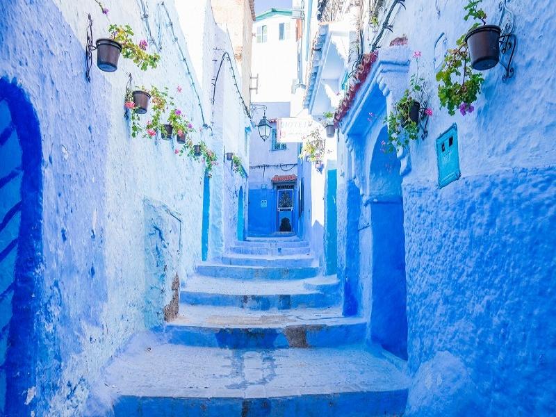 おすすめの絶景・秘境ツアー モロッコ/シャウエン