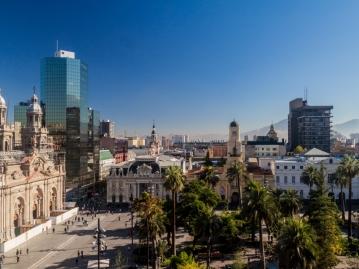 サンチャゴ旧市街
