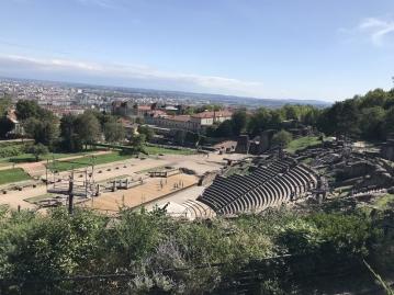 ルグドゥノム博物館&古代ローマ劇場