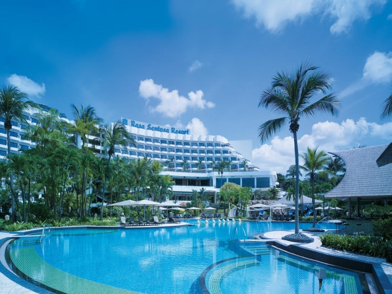 シャングリラ ラサ セントーサ リゾート シンガポール