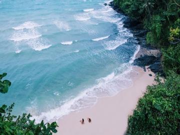 パンワビーチエリア
